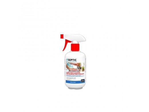 Skystis paviršiams valyti ir dezinfekuoti ITSEPTIC , 500 ml.