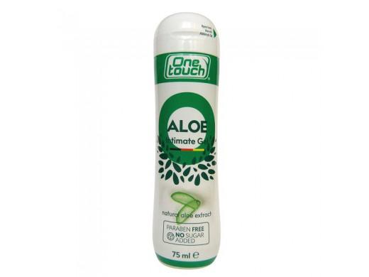 Švelnus intymus lubrikantas ONE TOUCH ALOE VERA, 75 ml.