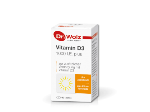 Vitamin D3 1000 I.E. plus N60