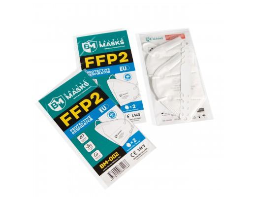 Respiratoriai FFP2 Baltic Masks, 2vnt.