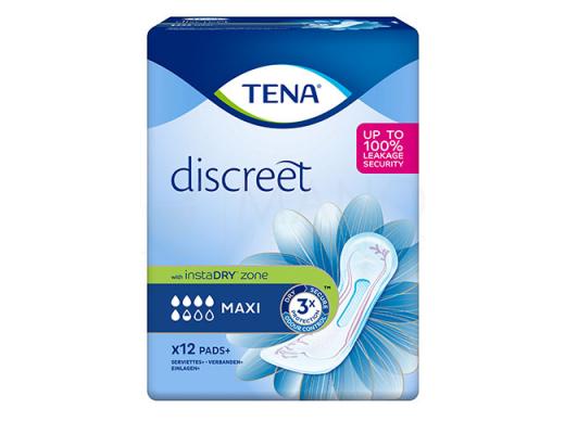 TENA įklotai Discreet Maxi N12