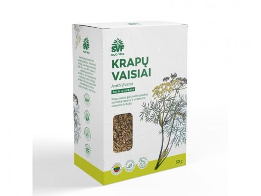 ŠVF Krapų vaisiai, žolelių arbata 50 g.